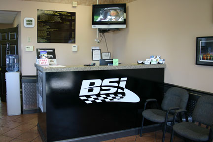 waiting room of Bsi Car Service