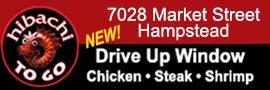 Hibachi To Go Hampstead location now open
